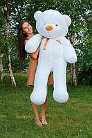 Большой медведь тедди 160 см белый