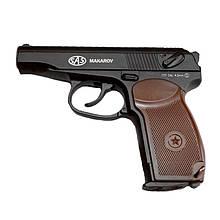 Пистолет пневматический SAS Макаров ПМ Blowback (4,5 мм)