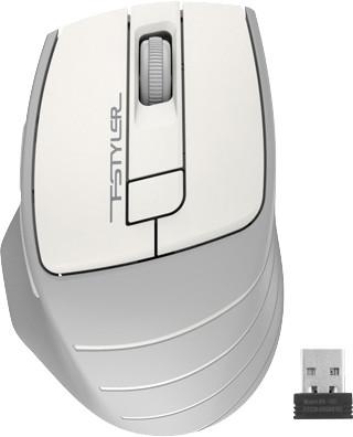Мышь беспроводная A4Tech FG30 Grey/White USB