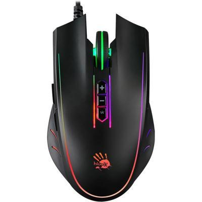Мышь A4Tech Q81 Bloody Neon XGlide Black USB