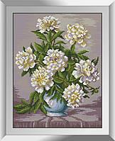 Алмазная мозаика Нежная красота Dream Art квадратные стразы, полная зашивка. Набор алмазной вышивки, фото 1