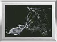 Алмазная мозаика Знакомство Dream Art 31226 35x52см 12 цветов, квадр.стразы, полная зашивка. Набор алмазной