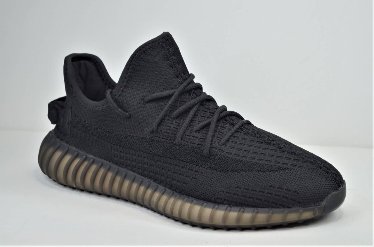 Мужские модные кроссовки черные в стиле Yeezy 5552 - 6