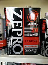 Масло моторное Idemitsu Zepro Racing 5W-40 4 литра