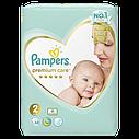 Подгузники Pampers Premium Care Размер 2, 4-8 кг, 68 шт, фото 2