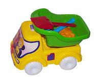 Машинка самосвал № 2 (зеленый), Бамсик, песочные наборы,наборы в песочницу,игрушки в песочницу,игрушки для