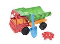 """Машина """"ГРУЗОВИК"""" песчаный (красный), Орион, песочные наборы,наборы в песочницу,игрушки в песочницу,игрушки"""