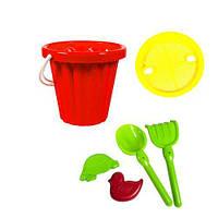 Песочный набор Большой Сег Красный., песочные наборы,наборы в песочницу,игрушки в песочницу,игрушки для