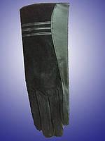 """Перчатки комбинированные с натуральной замшей. ТМ """"Ugursapka"""""""