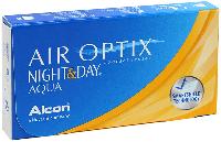 Контактные линзы Alcon Air Optix Night & Day AQUA (BC=8.6, DIA=13.8) 3 линзы