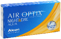 Контактные линзы Alcon Air Optix Night & Day AQUA (BC=8.6, DIA=13.8) 6 линз