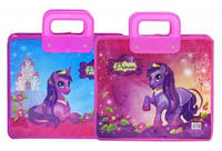 Папка портфель FC пластиковый 350 микрон MY CUTE PONY, код 7890