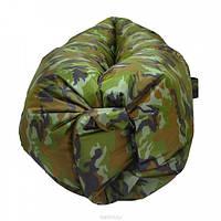 Надувной матрас мешок шезлонг кресло лежак Ламзак UKC камуфляжный