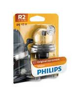 Лампа освещения R2 12V 45/40W P45t-41 STANDARD (Philips) (12620B1)