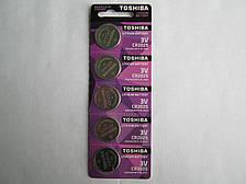 Батарейки Toshiba CR2025