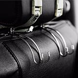 Автомобільний металевий тримач гачок вішалка для підголівника автомобіля, фото 3