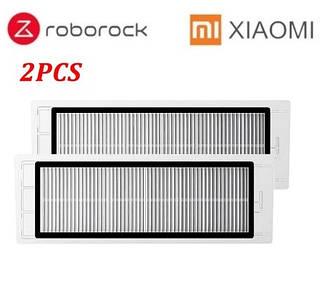 Фильтр для робота-пылесоса Xiaomi Mijia / RoboRock S50 S51 S55 E4 S5 Max S6 S6 MaxV S6 Pure  E20 C10 2 штуки