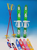 Лыжи детские 70 см. , комплект,  Польша