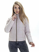 Женская демисезонная куртка Irvik ZS160 бежевая