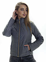 Женская демисезонная куртка Irvik ZS155 оливковый
