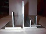 Алюминиевый профиль — тавр алюминиевый 25х25х2 Б/П, фото 4