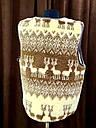Безрукавка шерстяная на меху с опушкой S (44), фото 5