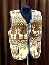 Безрукавка шерстяная на меху с опушкой S (44), фото 2