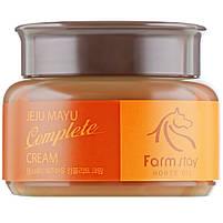 Комплексный питательный крем для лица с лошадиным жиром Farmstay Jeju Mayu Complete Cream 100 г, фото 2