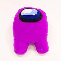 Мягкая игрушка Among Us (Амонг ас), плюшевая игрушка персонаж космонавт, для детей, видео обзор