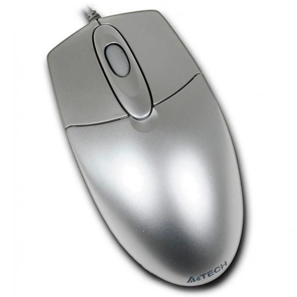 Мышка USB классическая A4Tech OP-720 USB Silver
