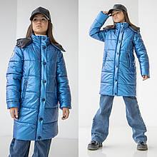 Дитяче зимове пальто на дівчинку Уляна