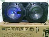 Бездротова портативна колонка з мікрофоном Ailiang Lige-A63, фото 4