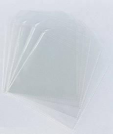 Прозрачный пакет для пряников c клапаном и липкой лентой 9*10,5 см.