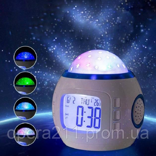 Ночник с часами Yuhai UI-1038