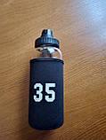 Стеклянная бутылка 1л для воды и заваривания чая с чехлом, фото 2