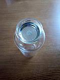 Стеклянная бутылка 1л для воды и заваривания чая с чехлом, фото 3