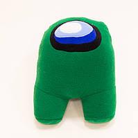 Мягкая игрушка Among Us (Амонг ас), плюшевая игрушка персонаж космонавт 35 см, для детей, видео обзор
