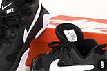 Кроссовки мужские Nike Air Barrage Low Junior Black. Живое фото. Реплика, фото 2