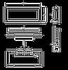 Биокамин Nice-House 900x400x120 мм черный глянцевый (9330), фото 7