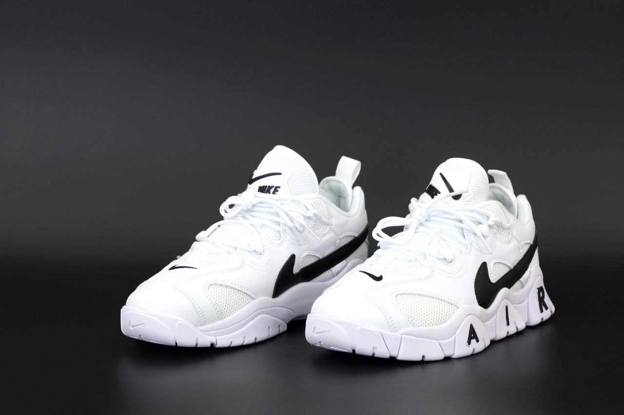 Мужские белые Кроссовки Nike Air Barrage