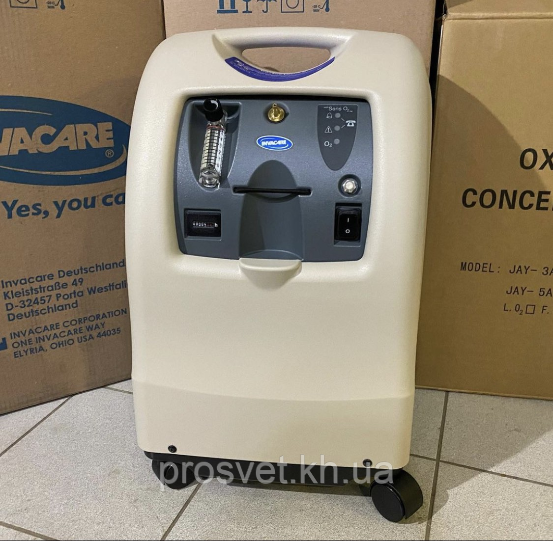 Кисневий концентратор Invacare Perfect V O2+Пульсоксимитр+Доставка