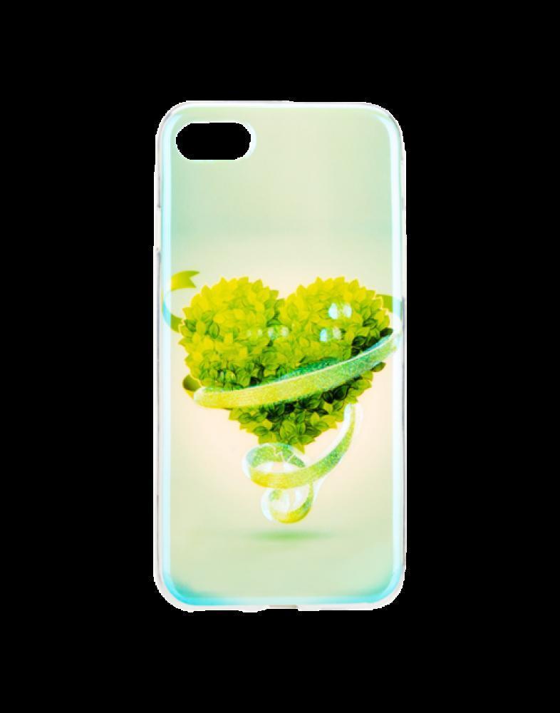 Накладка для iPhone 7/iPhone 8 силікон Remax Light Series Fantasy Heart
