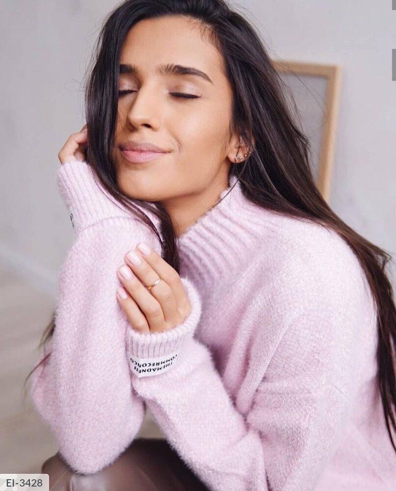 Женский ангоровый свитер