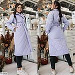 Женское стёганное пальто (Батал), фото 3