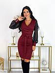 Вечернее ангоровое платье сетка, фото 5