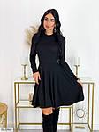 Платье с высокой талией и длинными рукавами, фото 2