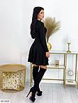 Платье с высокой талией и длинными рукавами, фото 5