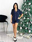 Женская трикотажная пижама с шортами, фото 8