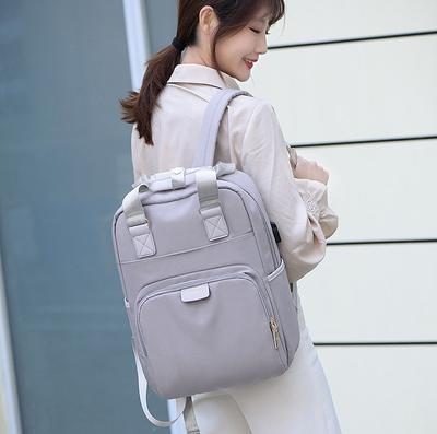 Сумка-рюкзак для ноутбука Apple, Xiaomi, Asus Digital J.QMEi grey