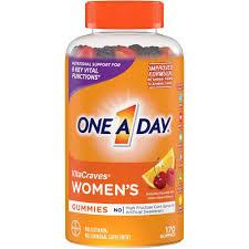 BAYER One-A-Day Women's VitaCraves® Multivitamin Gummies Fruit 170 мармеладок